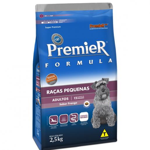 Ração Premier Fórmula Adulto Raças Pequenas 2,5kg