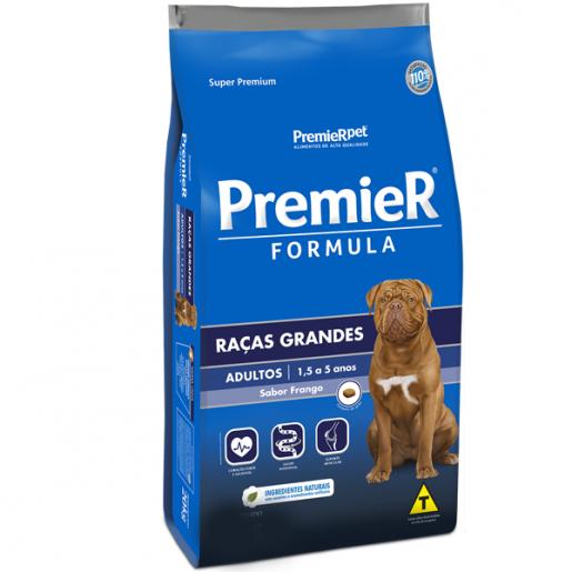 Ração Premier Fórmula Cachorros Adultos Raças Grandes Frango 15kg