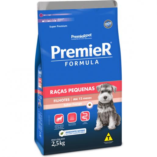 Ração Premier Fórmula Cachorros Filhotes Raças Pequenas Mini Bits 2,5kg