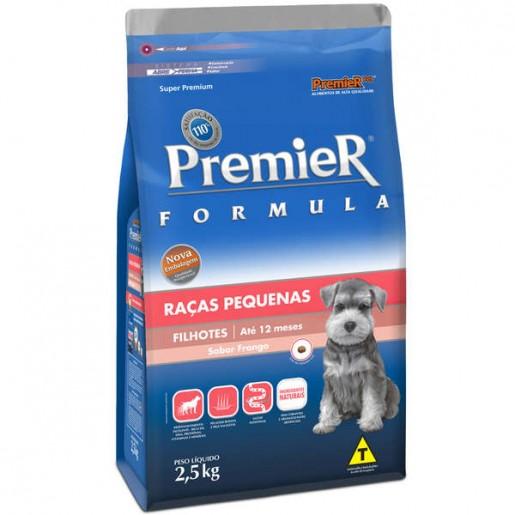 Ração Premier Fórmula Filhotes Raças Pequenas Mini Bits 2,5kg