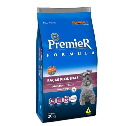 Ração Premier Fórmula Raças Pequenas Adultos 20kg