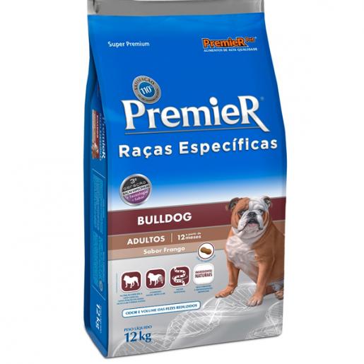 Ração Premier Raças Específicas Bulldog Adultos 12kg