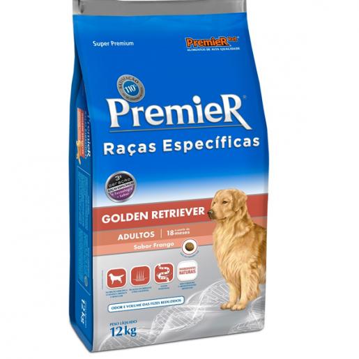 Ração Premier Raças Específicas Golden Retriever Adultos 12kg