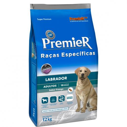 Ração Premier Raças Específicas Labrador Adultos 12kg