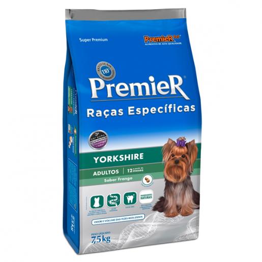 Ração Premier Raças Específicas Yorkshire Adultos 7,5kg