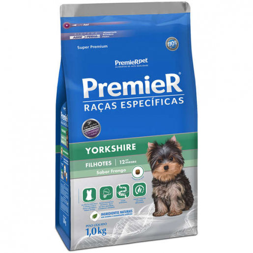 Ração Premier Raças Específicas Yorkshire Filhotes 1kg