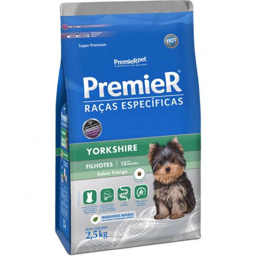 Ração Premier Raças Específicas Yorkshire Filhotes 2,5kg