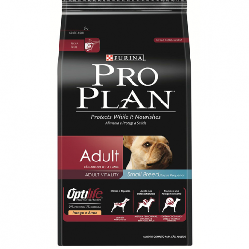 Ração Pro Plan Adult Small Breed 3kg
