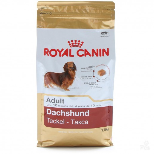 Ração Royal Canin Dachshund Adultos 2,5kg