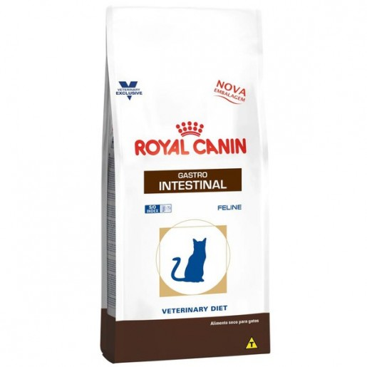 Ração Royal Canin Gatos Veterinary Gastro Intestinal 1,5kg