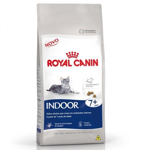 Ração Royal Canin Indoor 7+ Gatos 1,5kg