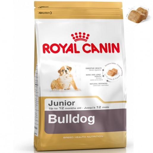 Ração Royal Canin Junior Bulldog 12kg