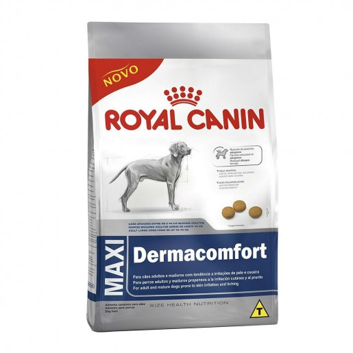 Ração Royal Canin Maxi Dermacomfort Pele Sensível 10,1kg