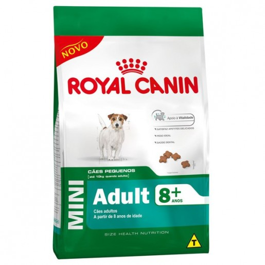 Ração Royal Canin Mini Adult 8+ 3kg