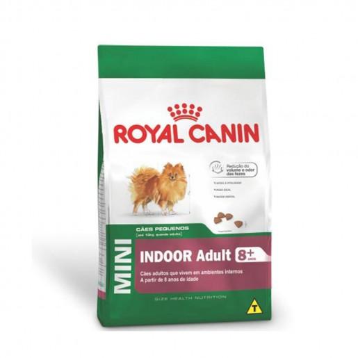 Ração Royal Canin MIni Indoor Adult 8+ 7,5kg