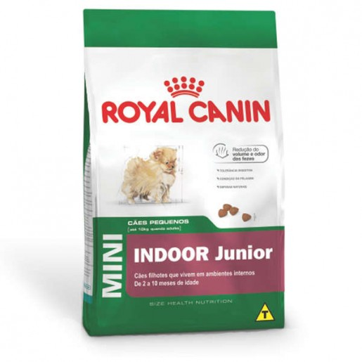 Ração Royal Canin Mini Indoor Junior 2,5kg