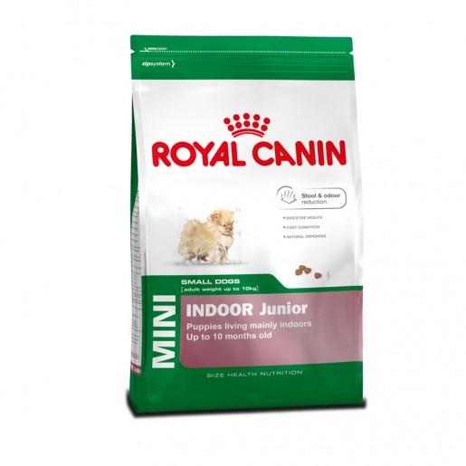 Ração Royal Canin Mini Indoor Junior 7,5kg