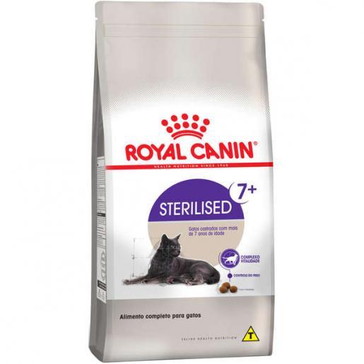 Ração Royal Canin Sterilised 7+ Gatos Castrados 7,5kg