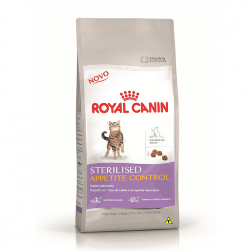 Ração Royal Canin Sterilised Appetite Control 1,5kg