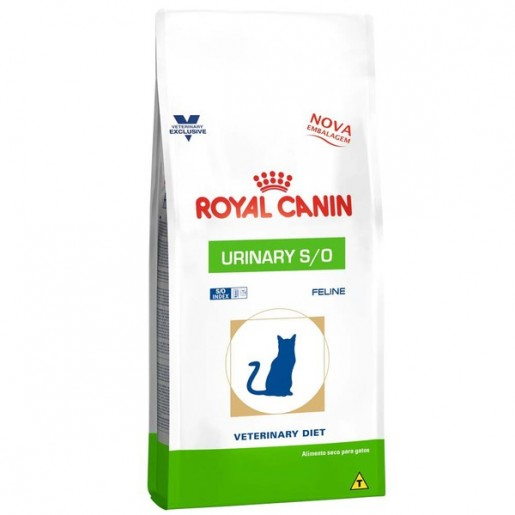 Ração Royal Canin Urinary S/O Index Gatos 500g