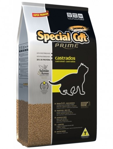 Ração Special Cat Gatos Castrados 10,1kg