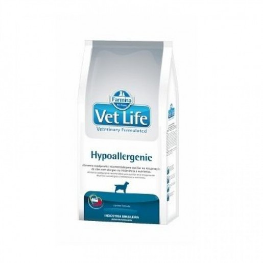 Ração Vet Life Cães Hypoallergenic 10,1kg