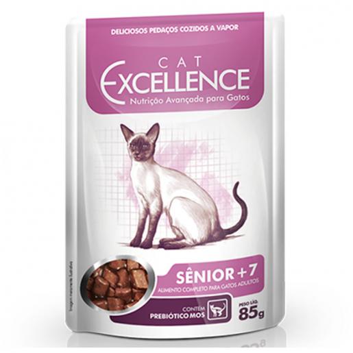 Sachê Gato Cat Excellence Sênior +7 85g