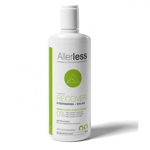 Shampoo Allerless Recover Gatos e Cachorros 240ml