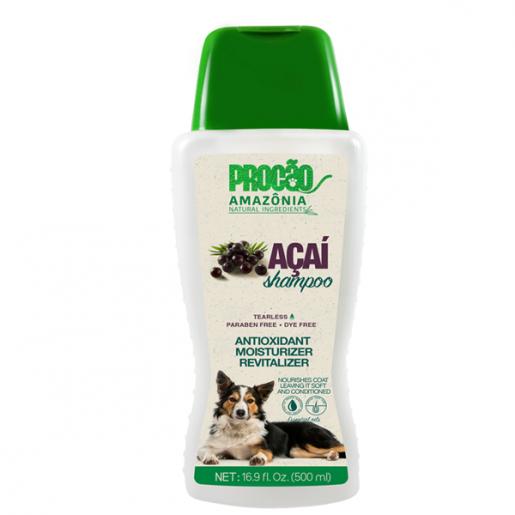 Shampoo Amazônia Açaí Gatos e Cachorros Procão 500ml
