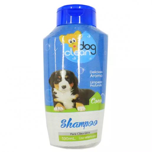 Shampoo Dog Clean Coco Gatos e Cachorros 500ml