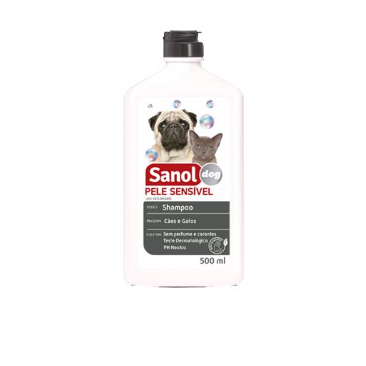 Shampoo Sanol Pele Sensível 500ml