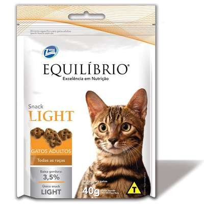 Snack Equilibrio Light Gatos Adultos 40g