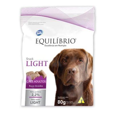 Snack Equilibrio Light Raças Grandes Adultos 80g