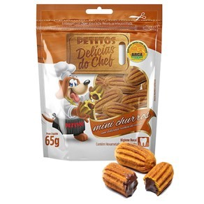 Snack Petitos Delícias do Chef Mini Churros 65g