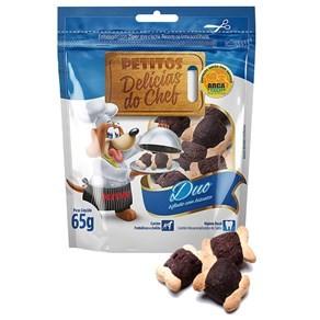 Snack Petitos Delícias do Chef Duo Bifinho com Biscoito 65g