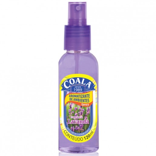 Spray Aromatizante de Ambientes Coala Lavanda 120ml
