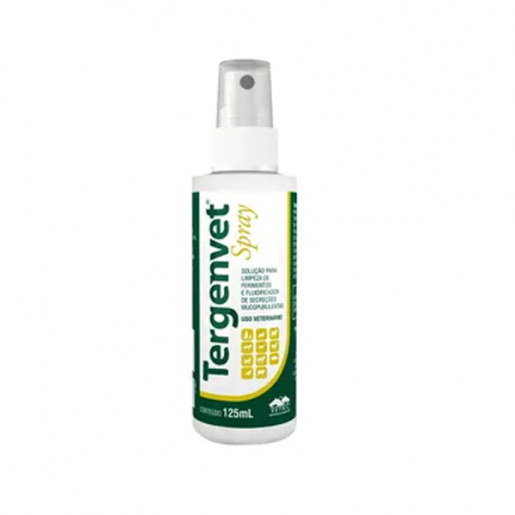 Spray para Limpeza de Ferimentos Tergenvet Vetnil 125ml