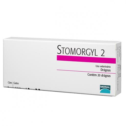 Stomorgyl 2 Antibiótico com 20 Comprimidos