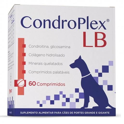 Suplemento Condroplex LB Cães Grandes e Gigantes 60 Comprimidos