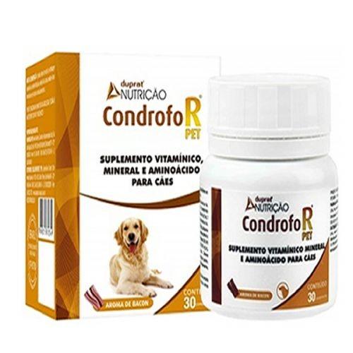 Suplemento Mineral Vitamínico CondrofoR 30 Comprimidos