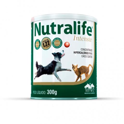 Suplemento Vitamina Nutralife Intensiv Para Cães E Gatos 300g