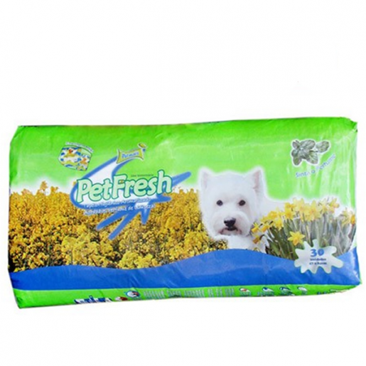 Tapete Higiênico Pet Fresh Aromatizado 30 Unidades