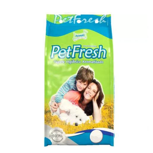 Tapete Higiênico Pet Fresh Aromatizado 7 Unidades