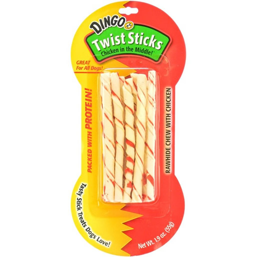 Osso Dingo Twist Sticks 55g