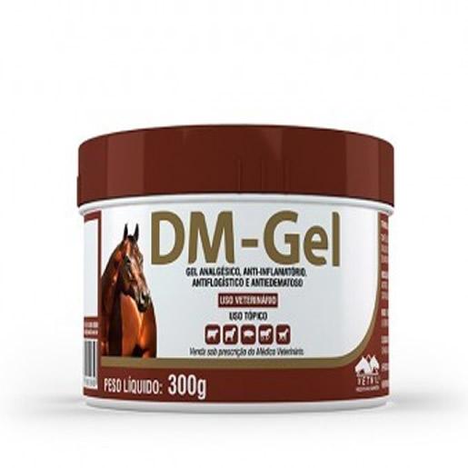 DM-Gel Analgésico Anti-Inflamatório Bovinos Caprinos e Ovinos 300g