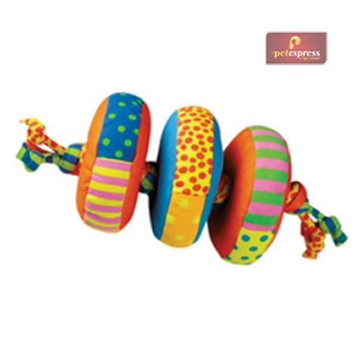 Brinquedo Anéis de Tração Jumbo Petstages