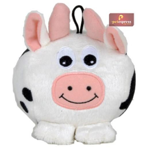 Brinquedo Vaca Puff Petix para Cães