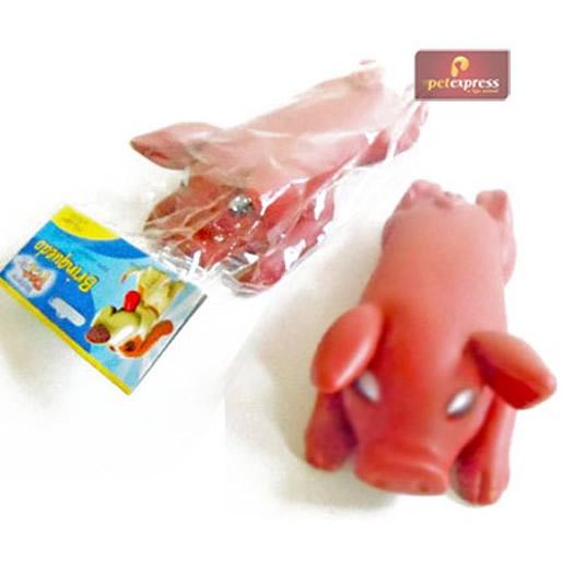 Brinquedo Porco em Vinil Western
