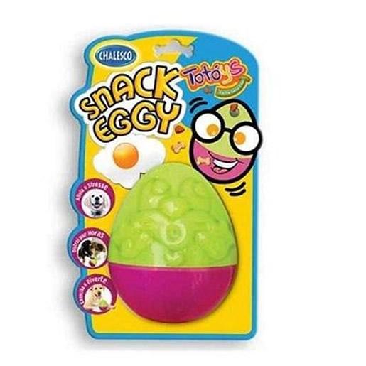 Brinquedo Snack Eggy Para Cães Porta Petisco