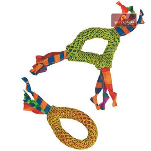 Brinquedo Argola com Fitas e Ervas